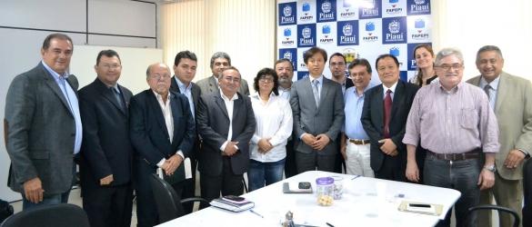 Coreanos discutem investimento em energia renovável no Piauí