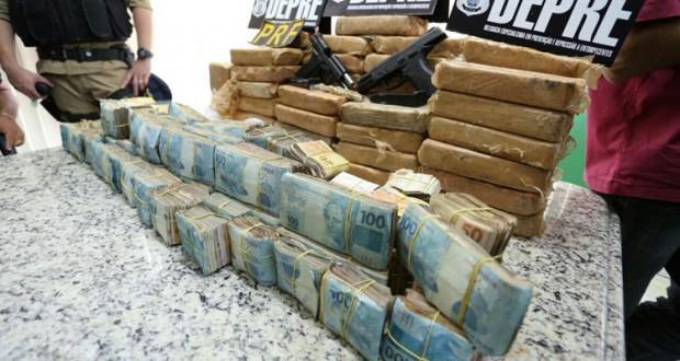Delegado quer que R$ 300 mil apreendidos sejam investidos na Polícia