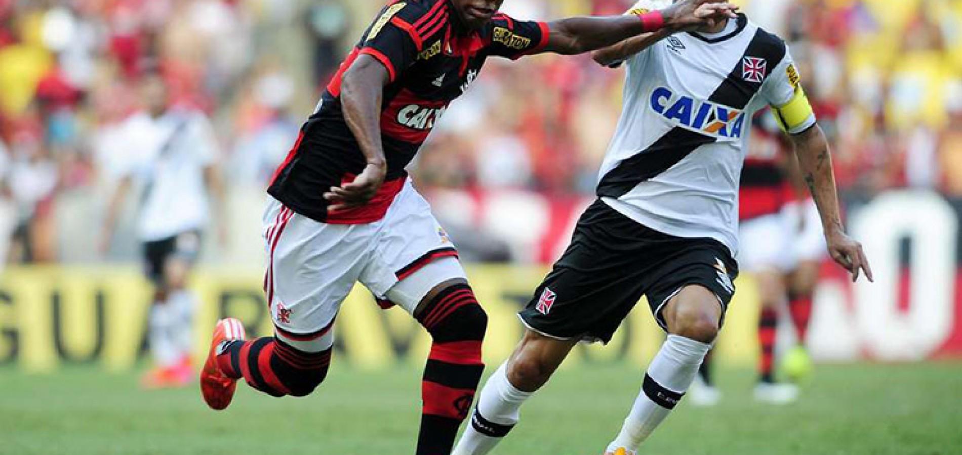 Vasco vira sobre Flamengo e chega à quinta vitória em seis jogos