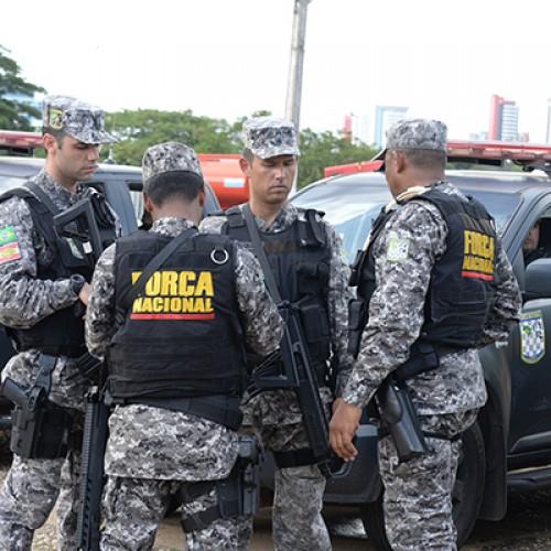 Comando redistribui homens da Força Nacional com movimento Polícia Legal