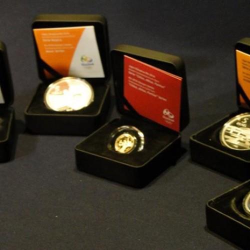 Com homenagem ao Cristo Redentor, lote de moedas do Rio 2016 é lançado