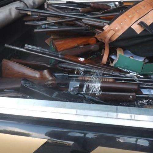 Polícia Federal no Piauí entrega ao exército 164 armas para destruição