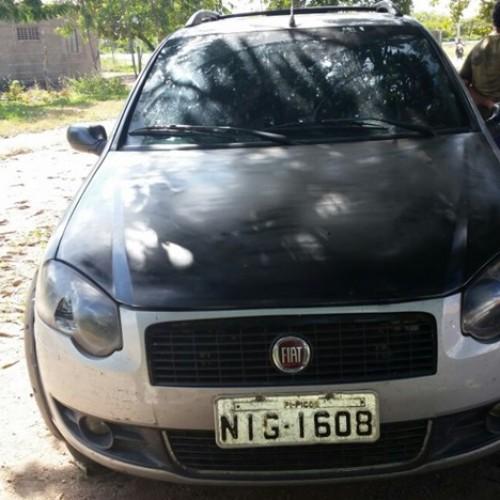Bandidos abandonam carro usado no assalto a Lotérica; veículo havia sido roubado há 8 dias no KM 87