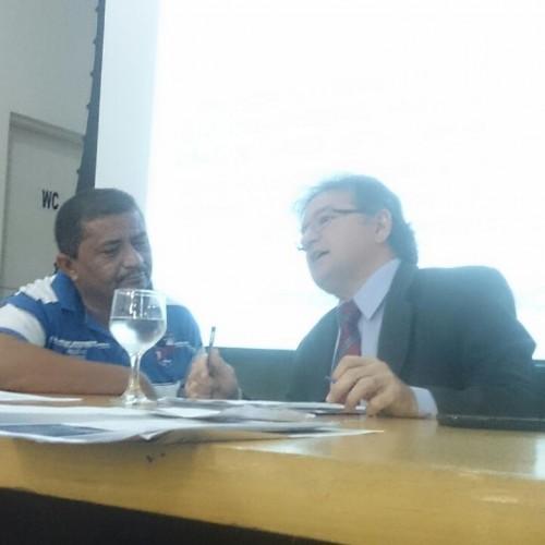 CURRAL NOVO | Prefeito Leônidas se reúne com Bancada Federal para discutir sobre a energia eólica