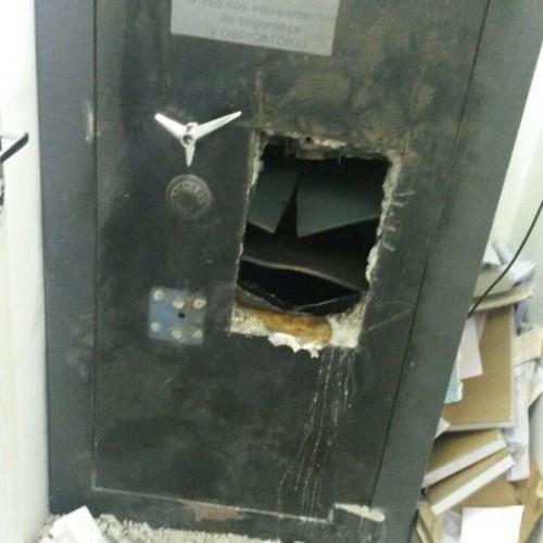 Bando arromba cofre do Banco do Brasil em cidade do Piauí durante feriadão
