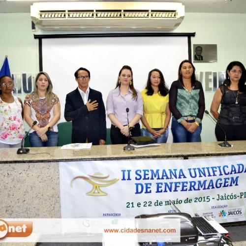 Jaicós sedia a II Semana Unificada de Enfermagem
