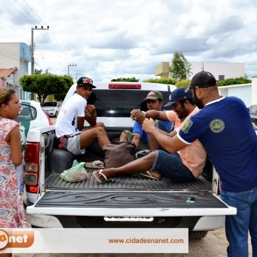 Acusados de furto em Campo Grande são levados para presídio; mulher é acusada de assassinato