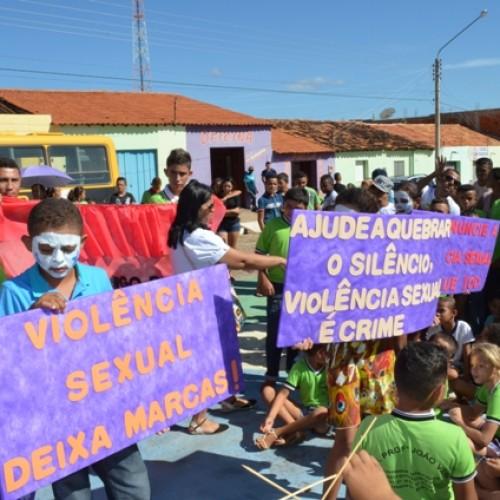 Vera Mendes realiza mobilização de Combate ao Abuso e à Exploração Sexual de Crianças e Adolescentes