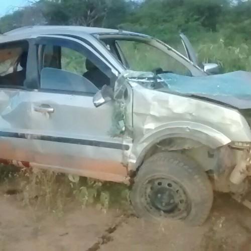 VERA MENDES   Um morre e três ficam feridos em grave acidente na PI 245