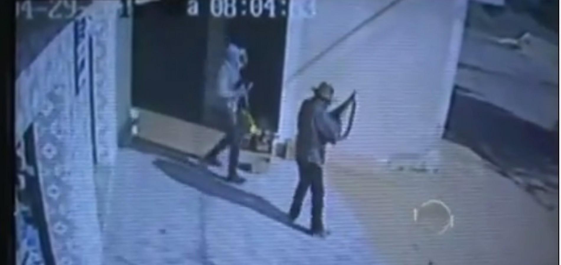 GEMINIANO | Vídeo mostra vítimas sendo arrastadas durante assalto ao comércio e lotérica. Veja!
