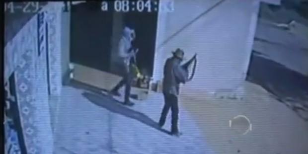 GEMINIANO   Vídeo mostra vítimas sendo arrastadas durante assalto ao comércio e lotérica. Veja!