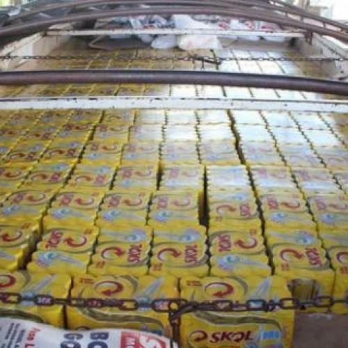 Carga de cerveja avaliada em R$ 81 mil é apreendida pela Sefaz no PI