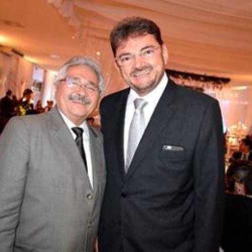 Rivais em 2014, Elmano e Wilsão se reencontram e esquecem disputas