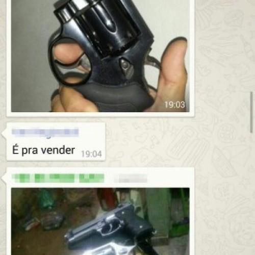 Homem oferece armas pelo WhatsApp e Polícia Civil do PI investiga o caso