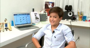 Garoto de 14 anos cria aplicativo e fatura cerca de R$ 100 mil por mês