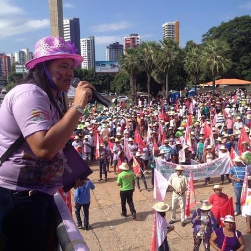 Trabalhadores rurais realizam marcha no Piauí e cobram ações para o campo