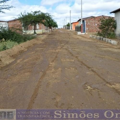 SIMÕES   Prefeitura faz recuperação de ruas da cidade