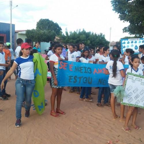 CAMPO GRANDE | Escola Antônio Ferreira de Oliveira realiza passeata no Dia Mundial do Meio Ambiente