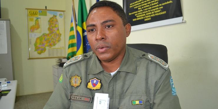 Capitão Félix, comandante da 3ª Cia