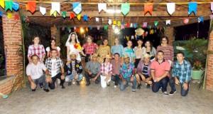 GENTE EM EVIDÊNCIA | Joana Barbosa comemora aniversário em ritmo de festas juninas
