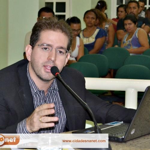 JAICÓS   Vereador Mávio reivindica poços tubulares e o piso salarial dos agentes