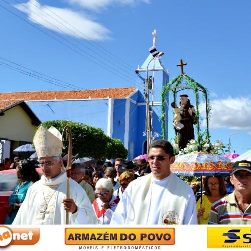 FOTOS | Missa solene e procissão da Festa de Santo Antônio, em Padre Marcos