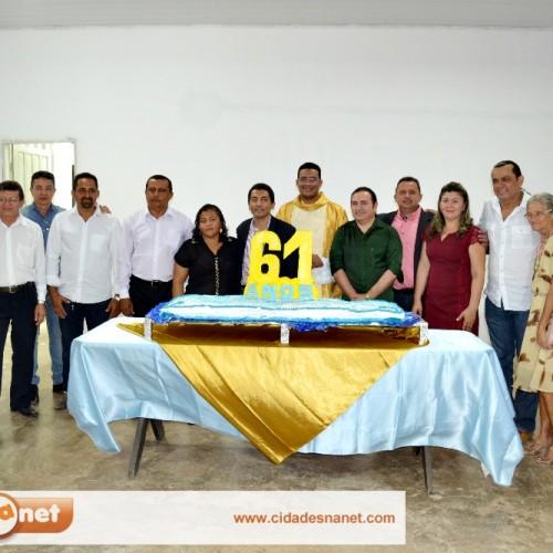 FOTOS | Missa em ação de graças ao aniversário de Itainópolis
