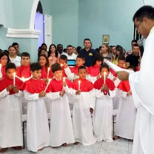 Padre Gregório preside a 10ª noite de missa no festejo de Santo Antônio