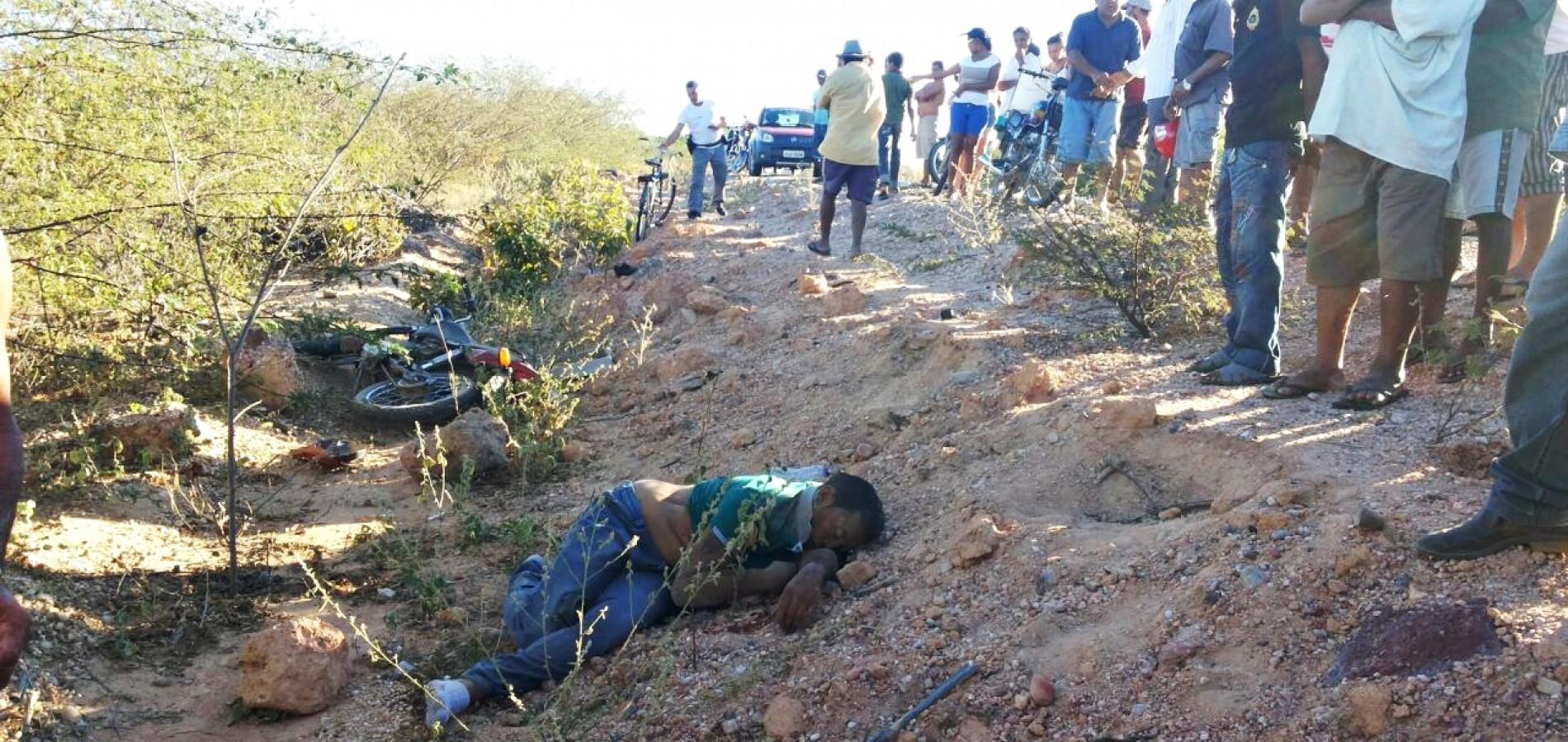 Homem de Campo Grande morre em acidente de moto na PI 229