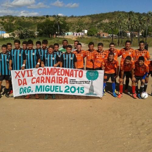 Prefeitura de Campo Grande realiza  XVII campeonato de futebol da Localidade Carnaíba