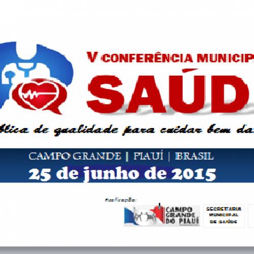 Prefeitura de Campo Grande do Piauí realizará V Conferência Municipal de Saúde