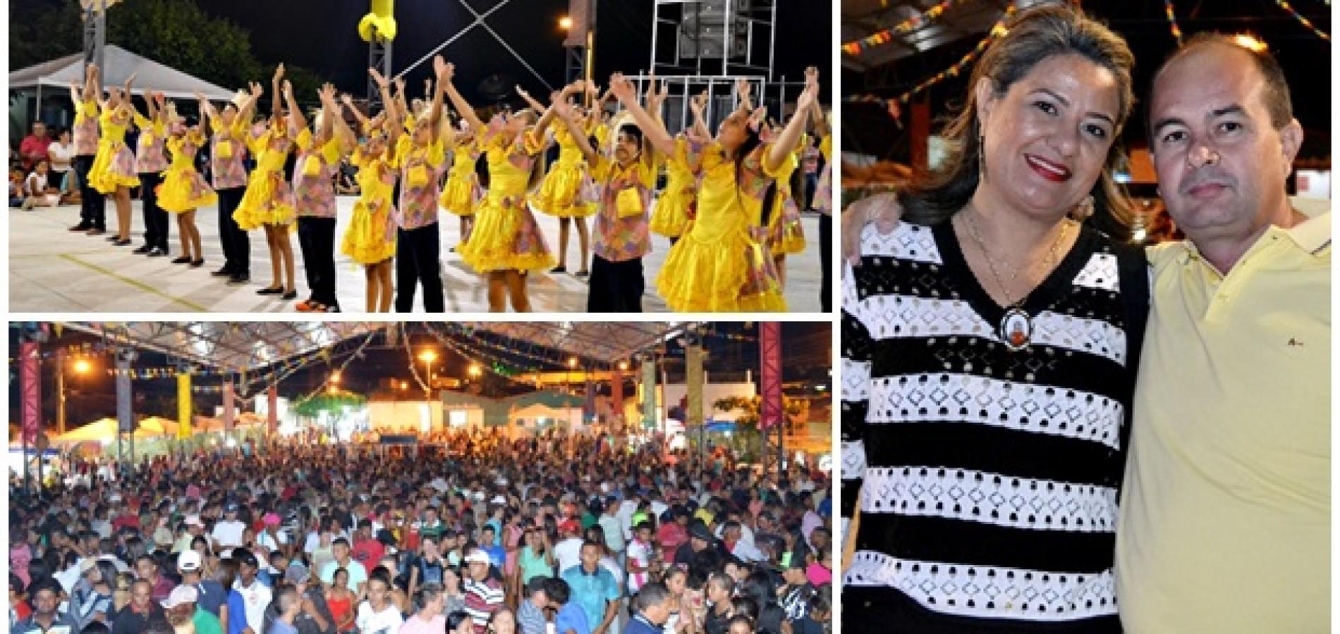 'Arraiá de Nóis Tudim' completa 13 anos de tradição em Francisco Macedo; veja fotos