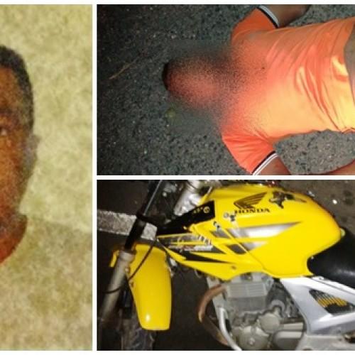 JAICÓS | Homem de 31 anos morre em acidente de moto