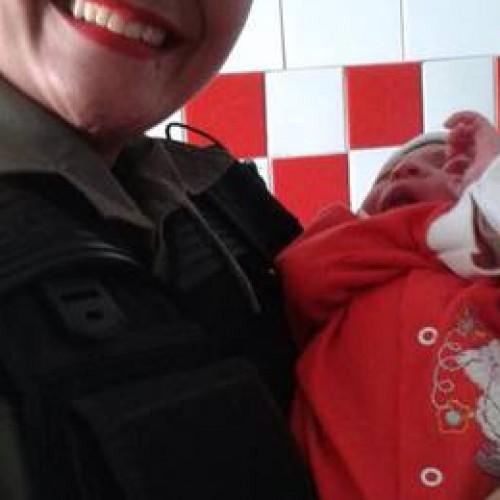 Polícia Militar resgata bebê abandonado em estrada vicinal no Piauí