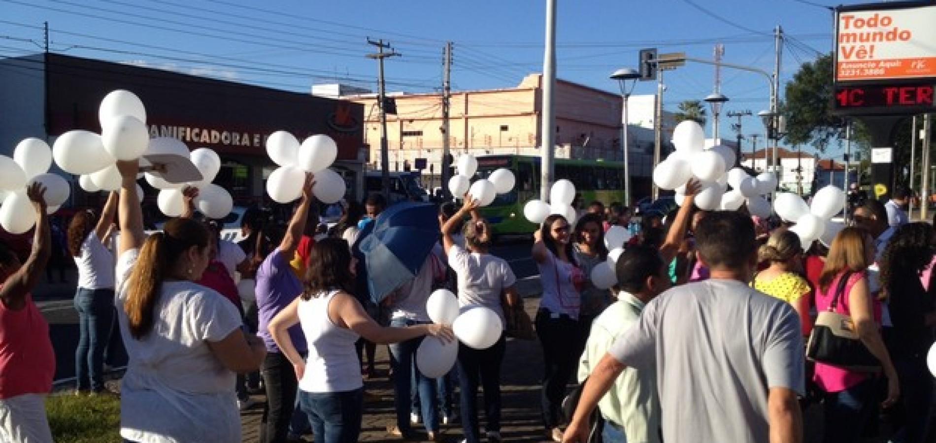 Manifestação em apoio às vítimas de estupro pede fim da violência no Piauí
