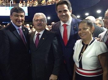 Regina Sousa e Elmano são indicados para conselho de ética do Senado