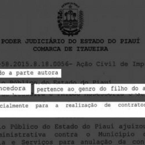 Concurso de mais uma Prefeitura do Piauí é suspenso após denúncias graves