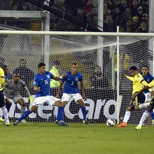 Brasil joga mal, perde para a Colômbia e decide vaga na última rodada