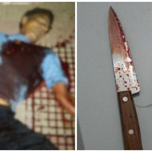 SIMÕES | Homem é assassinado a facadas em praça pública
