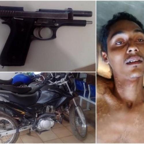 """Tentativa de homicídio em Picos pode ter ligação com prisão do """"Vida Loka"""""""