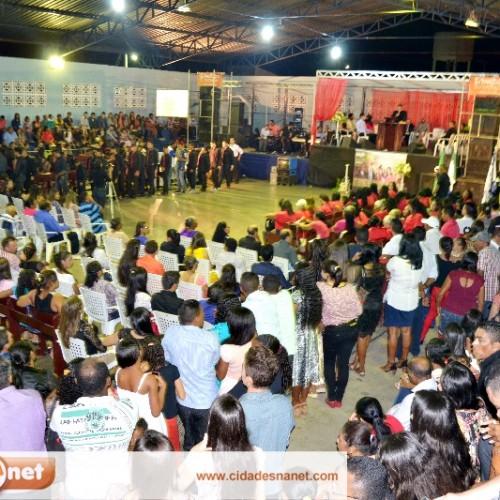 Evento da Igreja Assembleia de Deus reúne multidão de evangélicos em Jaicós; veja fotos