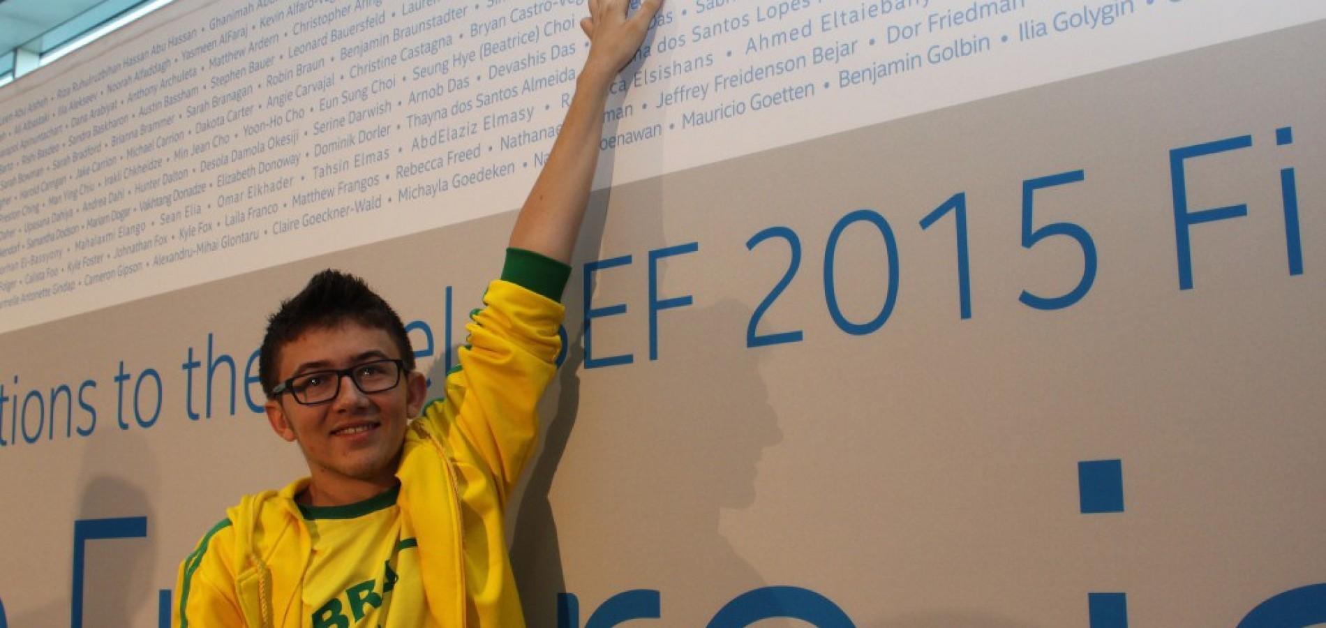 Jovem nordestino ganha prêmio internacional por criar remédio contra a gripe