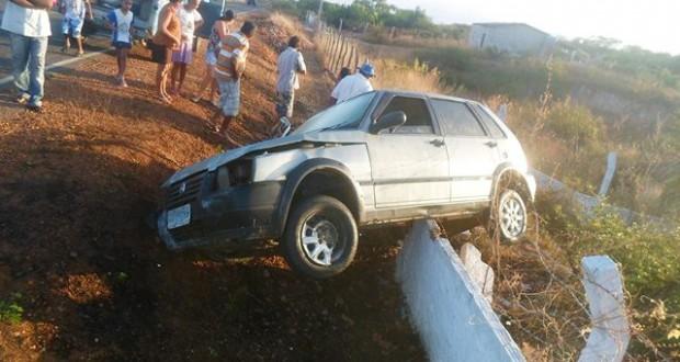 Presidente do STR de Francisco Santos sofre acidente de carro