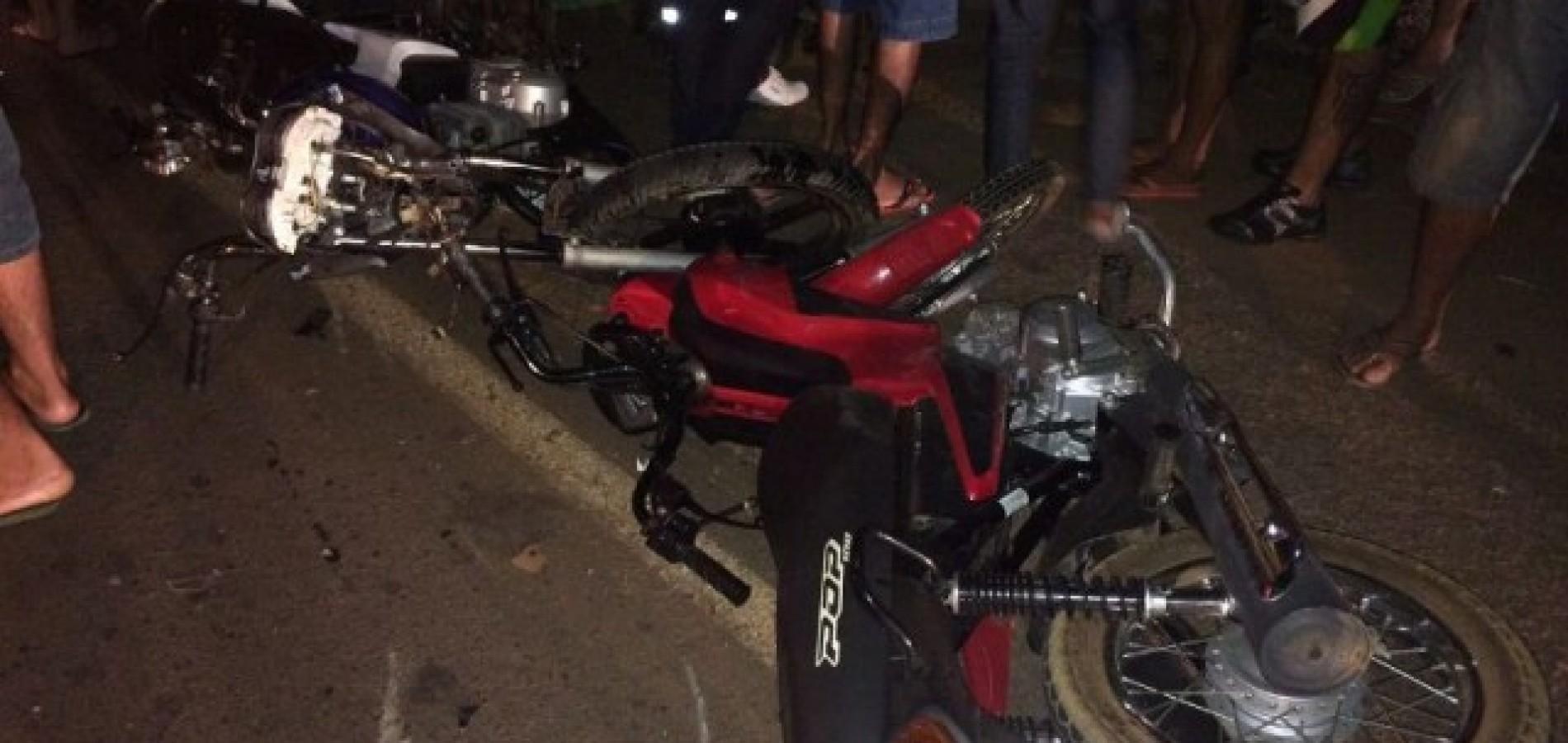 Acidente deixa dois feridos na estrada que liga Picos a Bocaina