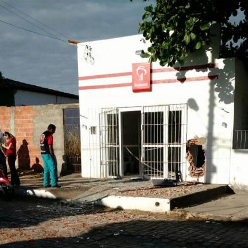 Bandidos explodem  mais um caixa eletrônico do Bradesco no Piauí