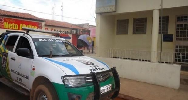 Bandidos arrombam e levam todo o dinheiro dos Correios em cidade do Piauí