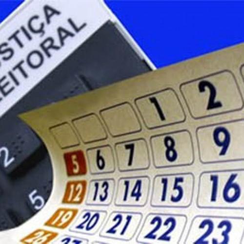 Candidatos devem estar atentos a datas um ano antes das eleições