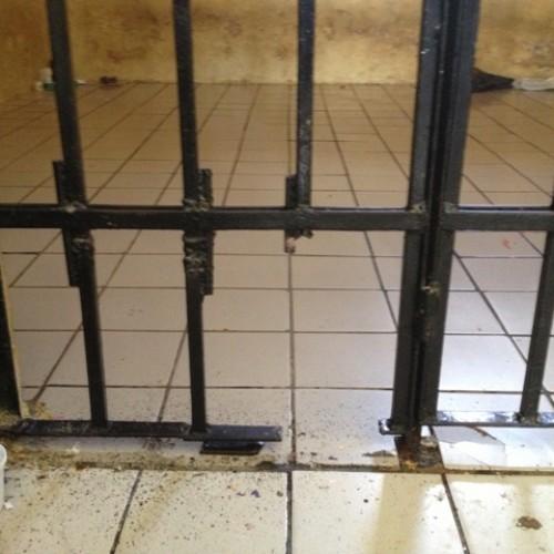 Presos serram grades de delegacia, mas policiais evitam fuga no Piauí