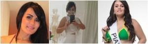 Candidata do Piauí ao Miss Bumbum 2015, Claudia Pires diz que sofre preconceito