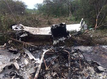 Polícia prende chefe da quadrilha que levava droga em avião que caiu no PI